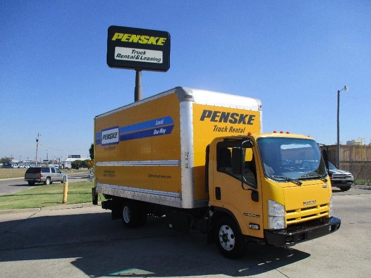 Medium Duty Box Truck-Light and Medium Duty Trucks-Isuzu-2013-NPR-OKLAHOMA CITY-OK-110,060 miles-$21,750