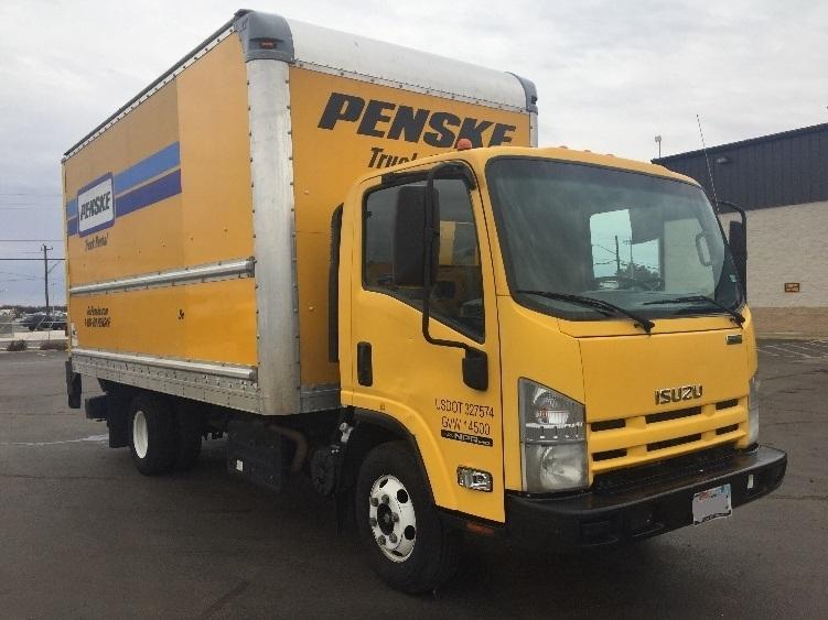 Medium Duty Box Truck-Light and Medium Duty Trucks-Isuzu-2013-NPR-SAN ANTONIO-TX-105,470 miles-$23,250