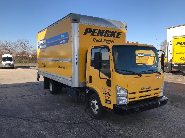 Medium Duty Box Truck-Light and Medium Duty Trucks-Isuzu-2013-NPR-ELK GROVE VILLAGE-IL-128,707 miles-$26,750