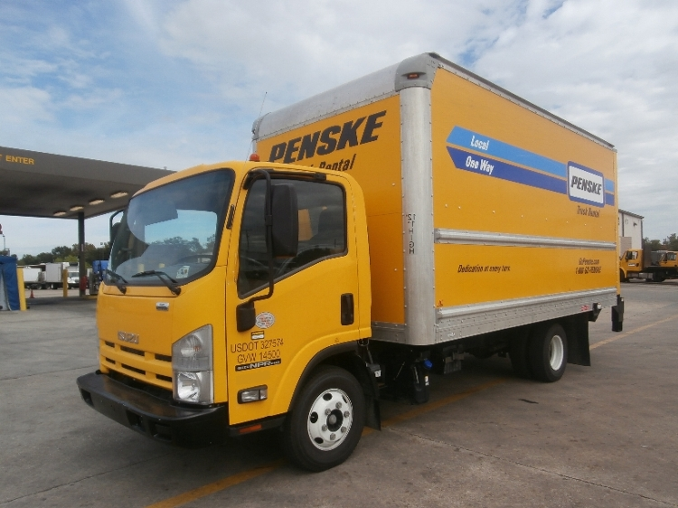 Medium Duty Box Truck-Light and Medium Duty Trucks-Isuzu-2013-NPR-HAMMOND-LA-153,065 miles-$21,750