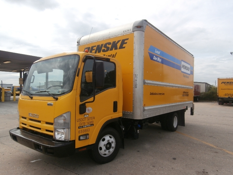 Medium Duty Box Truck-Light and Medium Duty Trucks-Isuzu-2013-NPR-HAMMOND-LA-137,378 miles-$21,500