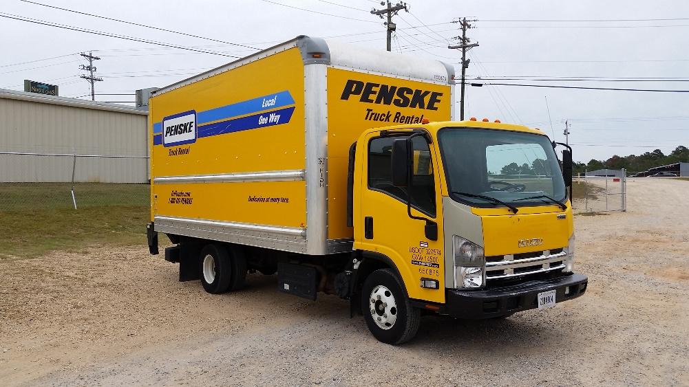 Medium Duty Box Truck-Light and Medium Duty Trucks-Isuzu-2013-NPR-HATTIESBURG-MS-106,359 miles-$29,750