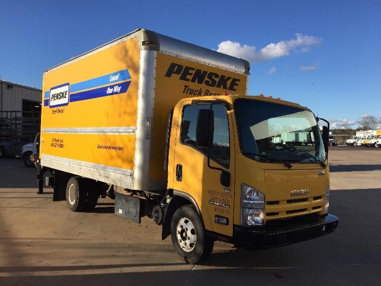 Medium Duty Box Truck-Light and Medium Duty Trucks-Isuzu-2013-NPR-HATTIESBURG-MS-117,351 miles-$22,250