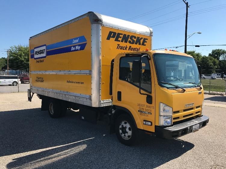 Medium Duty Box Truck-Light and Medium Duty Trucks-Isuzu-2013-NPR-BALTIMORE-MD-125,093 miles-$23,750