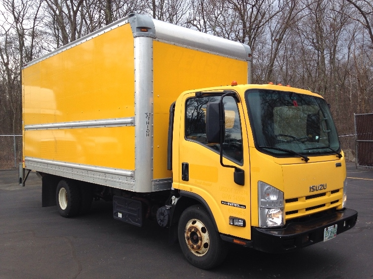 Medium Duty Box Truck-Light and Medium Duty Trucks-Isuzu-2013-NPR-BRAINTREE-MA-103,363 miles-$24,500