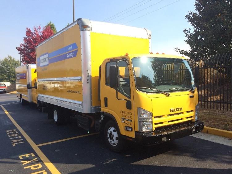 Medium Duty Box Truck-Light and Medium Duty Trucks-Isuzu-2013-NPR-DULUTH-GA-116,452 miles-$24,750