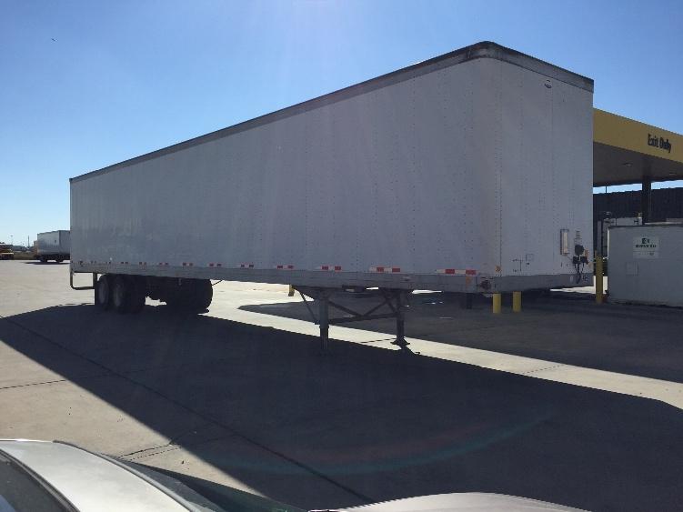 Dry Van Trailer-Semi Trailers-Luflin-2005-Trailer-LUBBOCK-TX-168,077 miles-$10,500