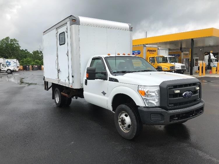 Medium Duty Box Truck-Light and Medium Duty Trucks-Ford-2012-F350-ZELIENOPLE-PA-124,327 miles-$18,000