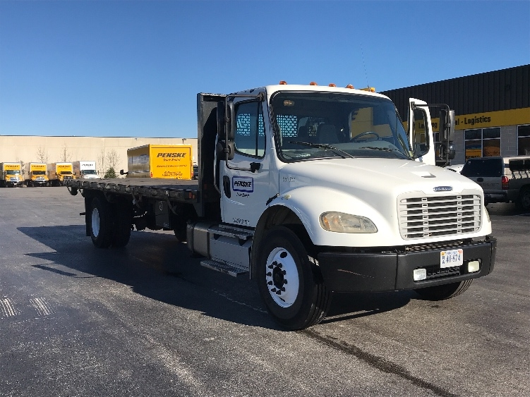 Flatbed Truck-Light and Medium Duty Trucks-Freightliner-2013-M2-BALTIMORE-MD-154,607 miles-$37,500