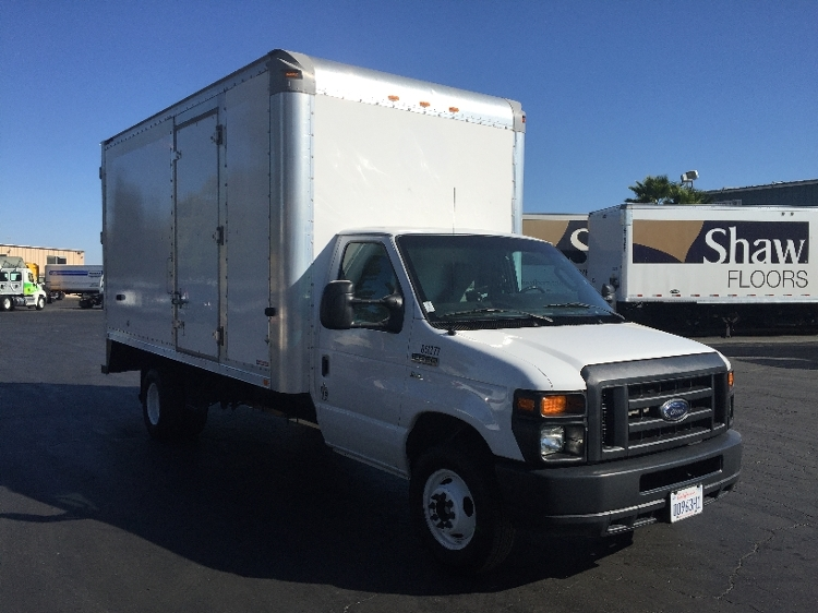 Light Duty Box Truck-Light and Medium Duty Trucks-Ford-2012-E450-WEST SACRAMENTO-CA-93,940 miles-$20,500