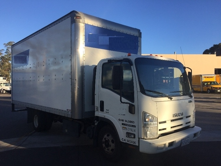Medium Duty Box Truck-Light and Medium Duty Trucks-Isuzu-2012-NPR-LA MIRADA-CA-280,428 miles-$16,750