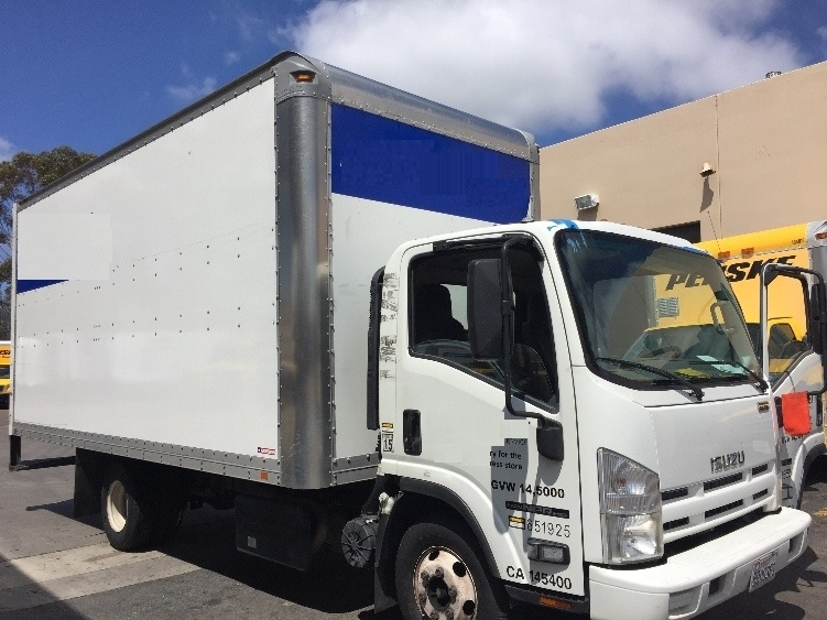 Medium Duty Box Truck-Light and Medium Duty Trucks-Isuzu-2012-NPR-LA MIRADA-CA-291,812 miles-$14,500