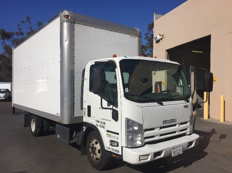 Medium Duty Box Truck-Light and Medium Duty Trucks-Isuzu-2012-NPR-LA MIRADA-CA-282,705 miles-$16,750
