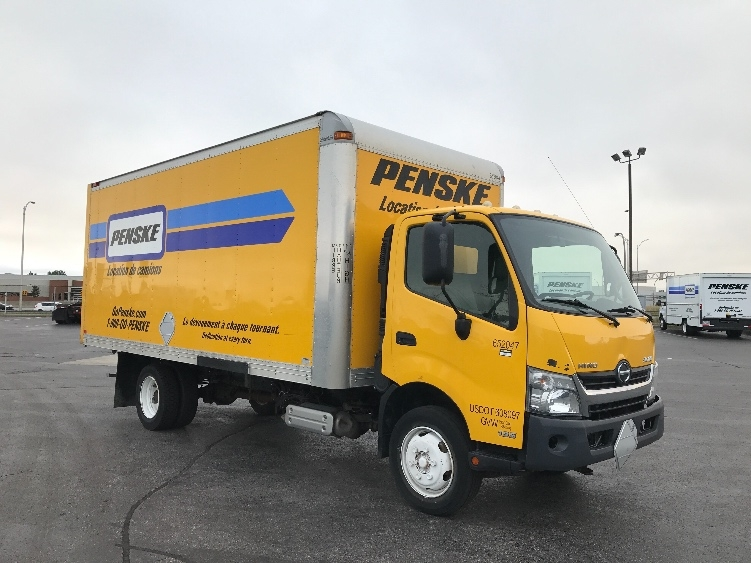 Medium Duty Box Truck-Light and Medium Duty Trucks-Hino-2013-195-SAINT LAURENT-PQ-161,982 km-$30,500