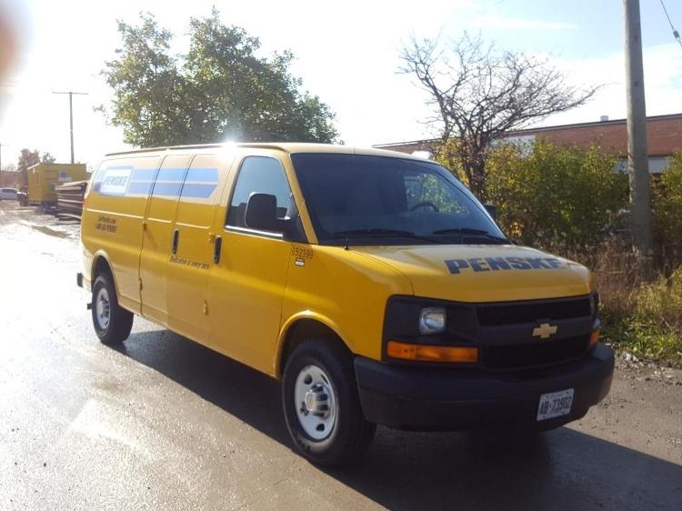 Cargo Van (Panel Van)-Light and Medium Duty Trucks-Chevrolet-2012-G23705-CONCORD-ON-145,910 km-$12,250