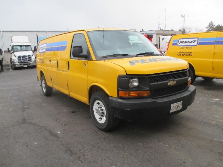 Cargo Van (Panel Van)-Light and Medium Duty Trucks-Chevrolet-2012-G23705-BURLINGTON-ON-63,810 km-$19,000