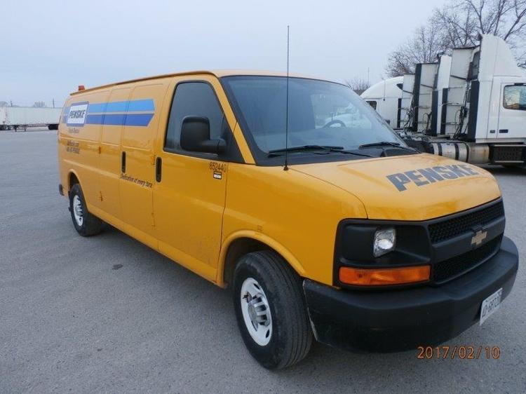 Cargo Van (Panel Van)-Light and Medium Duty Trucks-Chevrolet-2012-G23705-CHATHAM-ON-56,784 km-$17,750