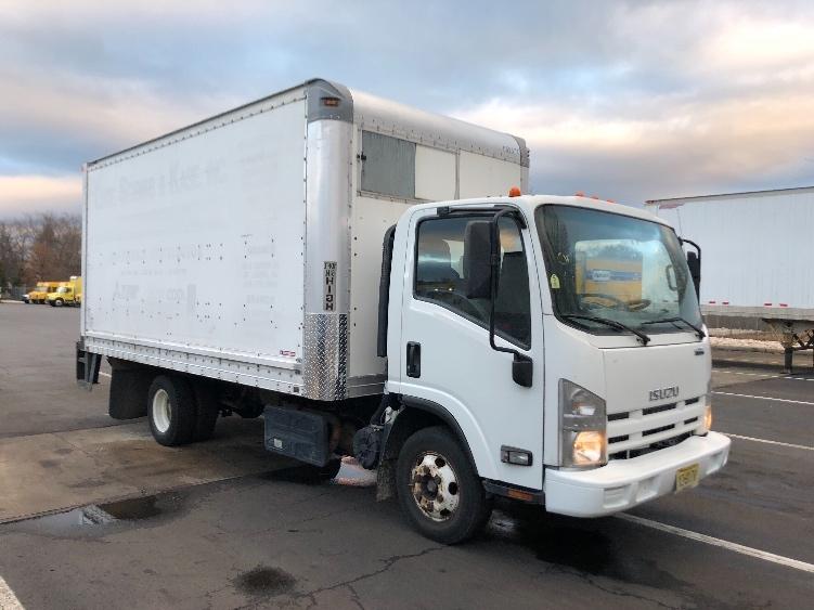 Medium Duty Box Truck-Light and Medium Duty Trucks-Isuzu-2013-NPR-PARSIPPANY-NJ-129,664 miles-$22,250