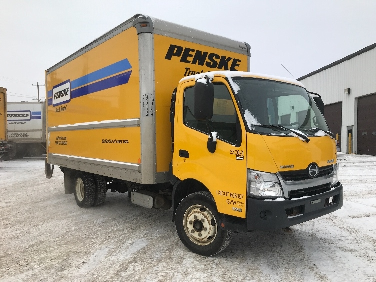 Medium Duty Box Truck-Light and Medium Duty Trucks-Hino-2013-195-EDMONTON-AB-129,955 km-$34,500