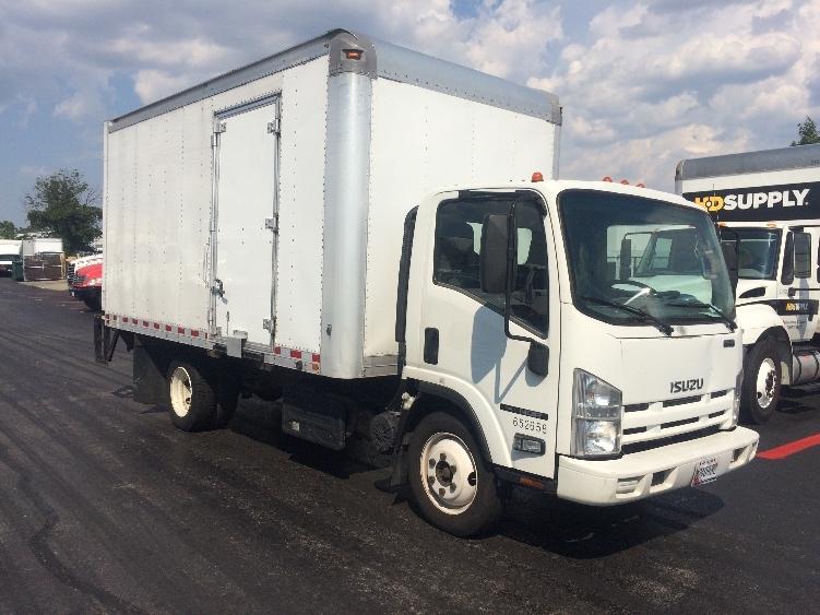 Medium Duty Box Truck-Light and Medium Duty Trucks-Isuzu-2013-NQR-BALTIMORE-MD-218,477 miles-$23,750