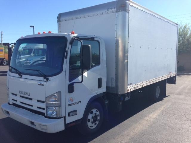 Medium Duty Box Truck-Light and Medium Duty Trucks-Isuzu-2012-NPR-PHOENIX-AZ-204,522 miles-$17,500