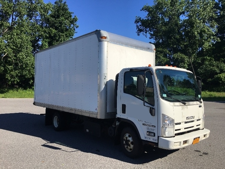 Medium Duty Box Truck-Light and Medium Duty Trucks-Isuzu-2012-NPR-ALBANY-NY-220,251 miles-$15,250