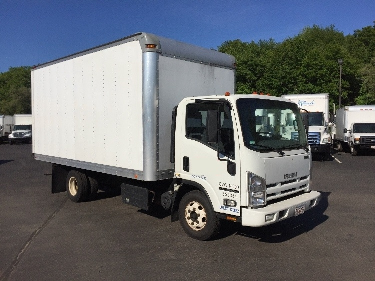 Medium Duty Box Truck-Light and Medium Duty Trucks-Isuzu-2012-NPR-NEW BEDFORD-MA-233,318 miles-$14,250