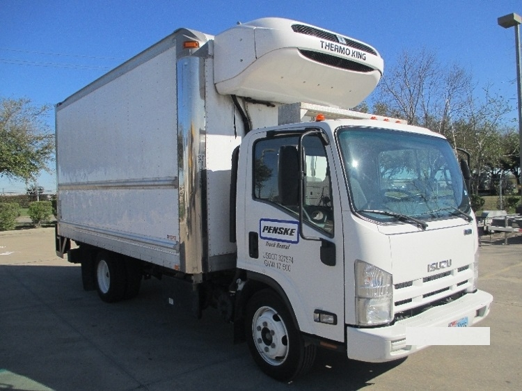 Reefer Truck-Light and Medium Duty Trucks-Isuzu-2013-NQR-HOUSTON-TX-134,249 miles-$36,500