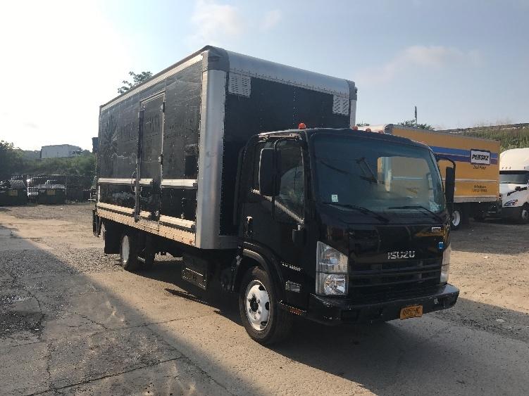 Medium Duty Box Truck-Light and Medium Duty Trucks-Isuzu-2013-NRR-ELMSFORD-NY-133,053 miles-$28,500