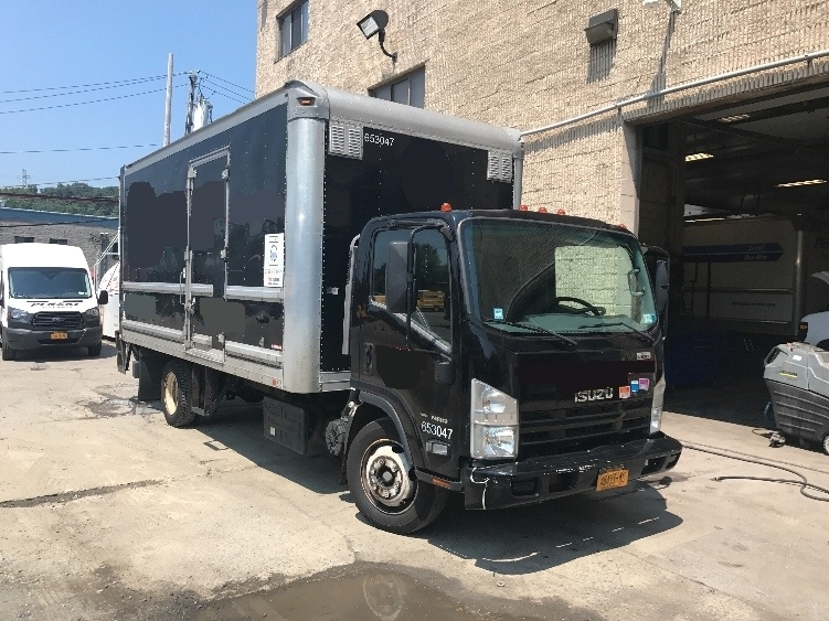 Medium Duty Box Truck-Light and Medium Duty Trucks-Isuzu-2013-NRR-ELMSFORD-NY-129,971 miles-$30,750