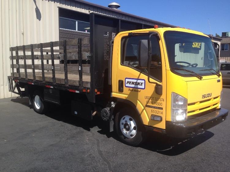 Flatbed Truck-Light and Medium Duty Trucks-Isuzu-2013-NPR-CLACKAMAS-OR-57,557 miles-$34,250