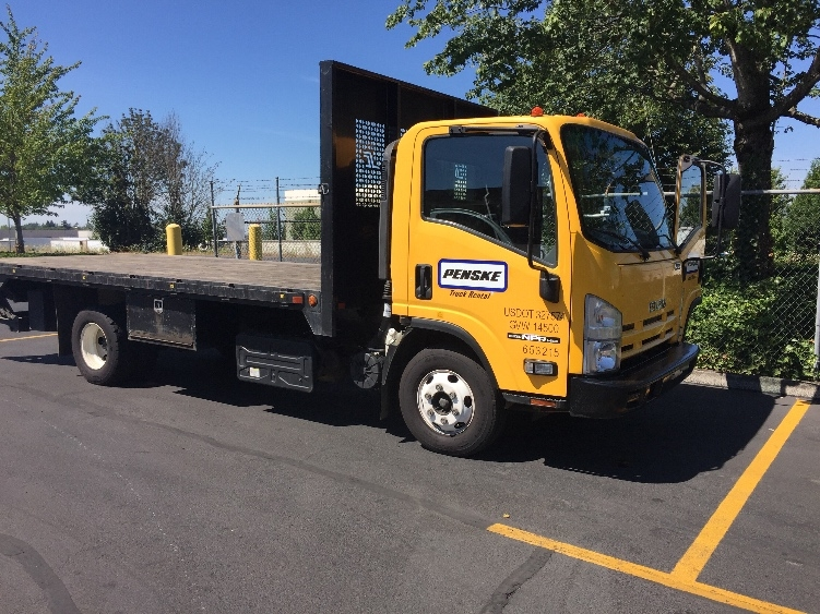 Flatbed Truck-Light and Medium Duty Trucks-Isuzu-2013-NPR-PORTLAND-OR-47,275 miles-$34,750
