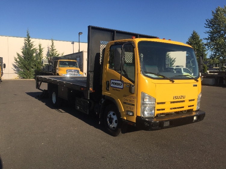 Flatbed Truck-Light and Medium Duty Trucks-Isuzu-2013-NPR-PORTLAND-OR-84,867 miles-$32,750