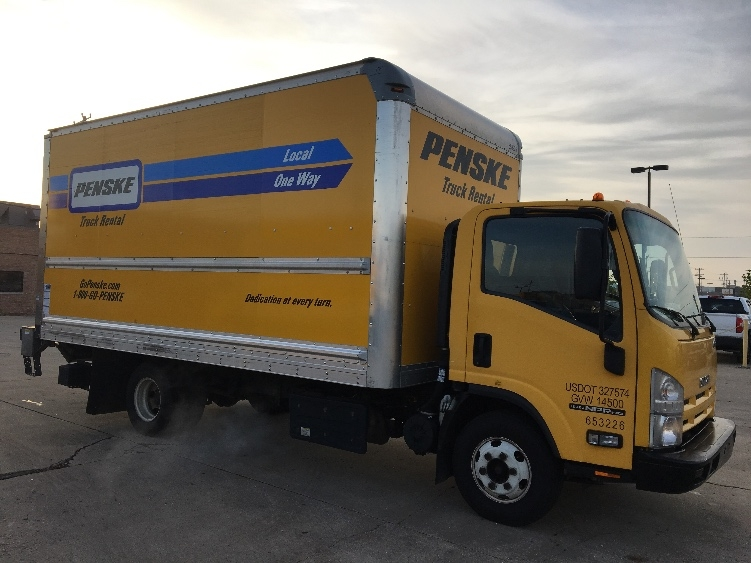 Medium Duty Box Truck-Light and Medium Duty Trucks-Isuzu-2013-NPR-FRANKLIN PARK-IL-104,958 miles-$24,250