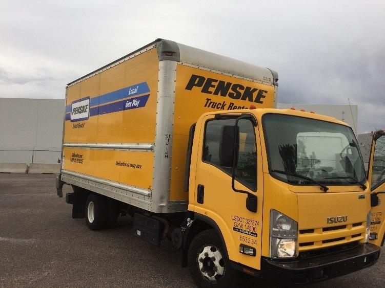 Medium Duty Box Truck-Light and Medium Duty Trucks-Isuzu-2013-NPR-DENVER-CO-102,810 miles-$25,750