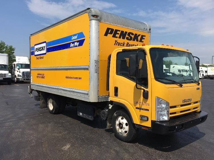 Medium Duty Box Truck-Light and Medium Duty Trucks-Isuzu-2013-NPR-DES MOINES-IA-133,749 miles-$19,500