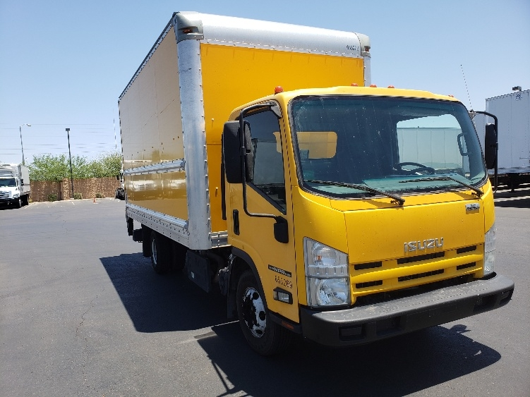 Medium Duty Box Truck-Light and Medium Duty Trucks-Isuzu-2013-NPR-PHOENIX-AZ-141,954 miles-$26,750