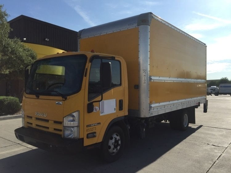 Medium Duty Box Truck-Light and Medium Duty Trucks-Isuzu-2013-NPR-PHOENIX-AZ-124,337 miles-$23,500