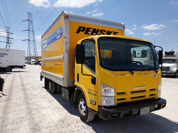 Medium Duty Box Truck-Light and Medium Duty Trucks-Isuzu-2013-NPR-HOUSTON-TX-98,278 miles-$24,750