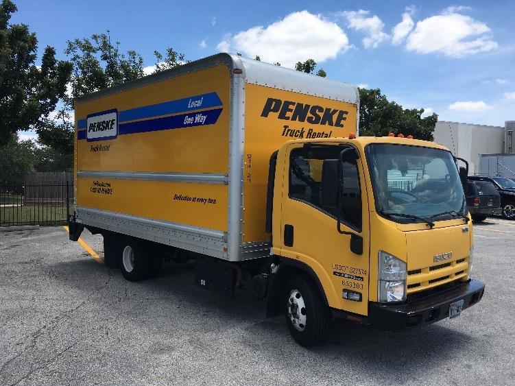 Medium Duty Box Truck-Light and Medium Duty Trucks-Isuzu-2013-NPR-HOUSTON-TX-105,842 miles-$25,250
