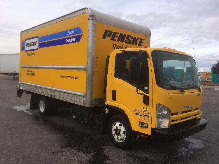 Medium Duty Box Truck-Light and Medium Duty Trucks-Isuzu-2013-NPR-BOISE-ID-107,906 miles-$26,750