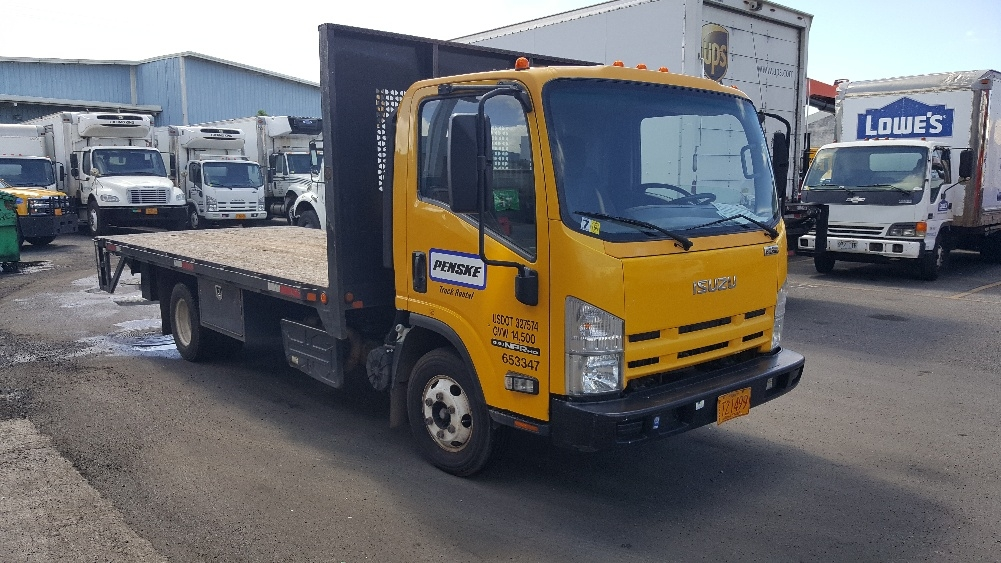 Flatbed Truck-Light and Medium Duty Trucks-Isuzu-2013-NPR-TORRANCE-CA-81,288 miles-$34,250