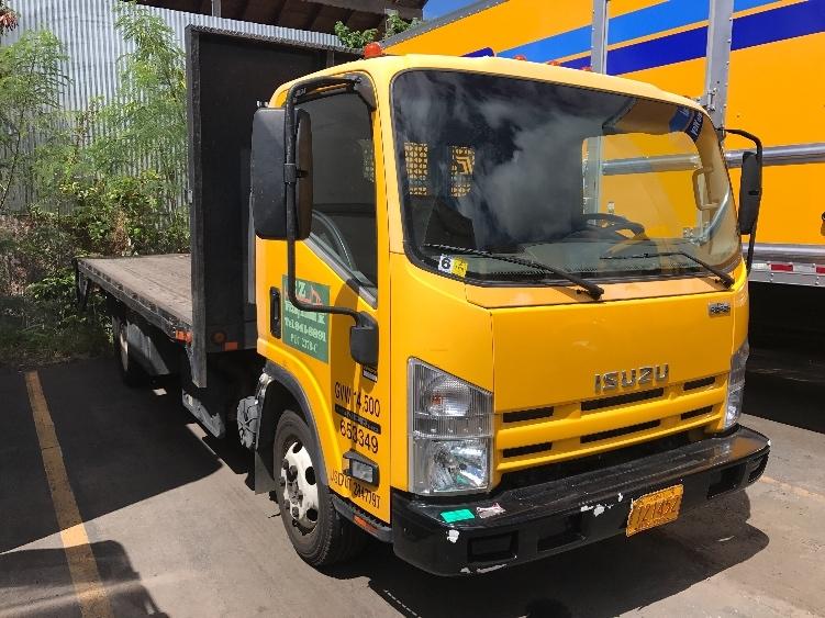 Flatbed Truck-Light and Medium Duty Trucks-Isuzu-2013-NPR-TORRANCE-CA-60,049 miles-$34,500