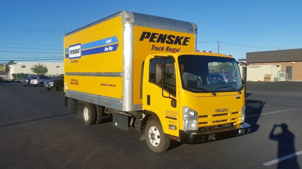 Medium Duty Box Truck-Light and Medium Duty Trucks-Isuzu-2013-NPR-LAS VEGAS-NV-82,976 miles-$31,250