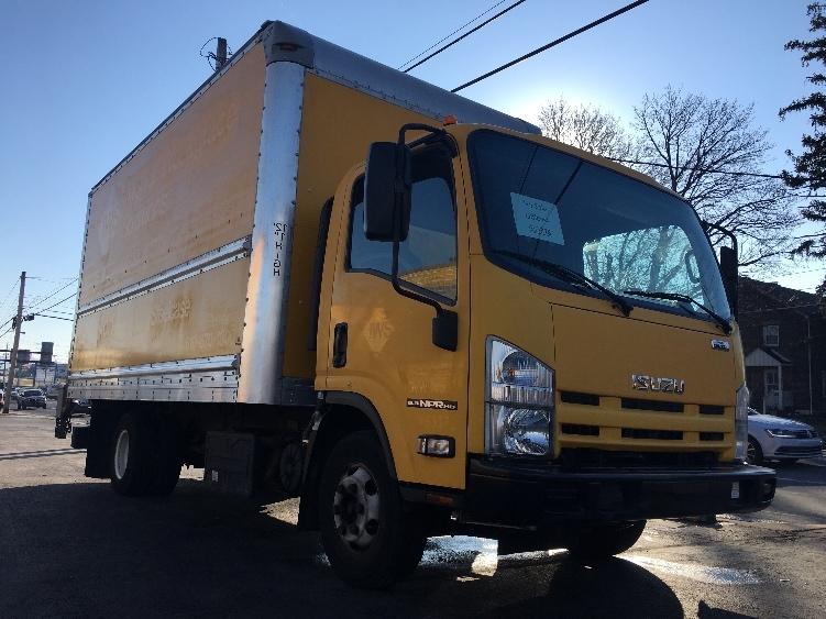 Medium Duty Box Truck-Light and Medium Duty Trucks-Isuzu-2013-NPR-ALLENTOWN-PA-90,013 miles-$27,750