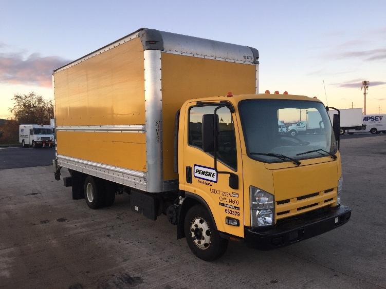 Medium Duty Box Truck-Light and Medium Duty Trucks-Isuzu-2013-NPR-ALLENTOWN-PA-143,428 miles-$23,500
