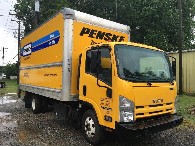 Medium Duty Box Truck-Light and Medium Duty Trucks-Isuzu-2013-NPR-CHARLOTTE-NC-139,012 miles-$22,750