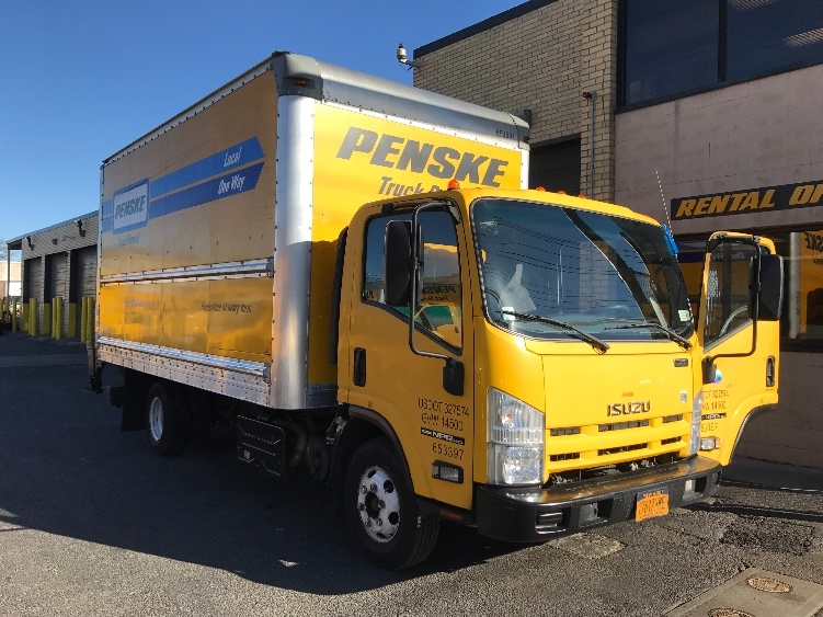 Medium Duty Box Truck-Light and Medium Duty Trucks-Isuzu-2013-NPR-WEST BABYLON-NY-75,050 miles-$28,000
