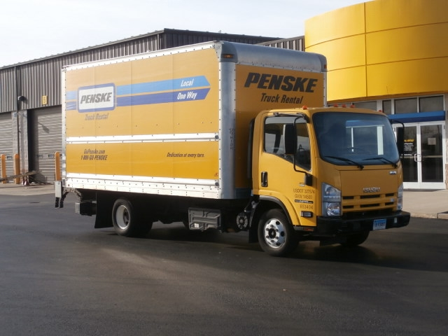 Medium Duty Box Truck-Light and Medium Duty Trucks-Isuzu-2013-NPR-CHICOPEE-MA-95,901 miles-$29,250