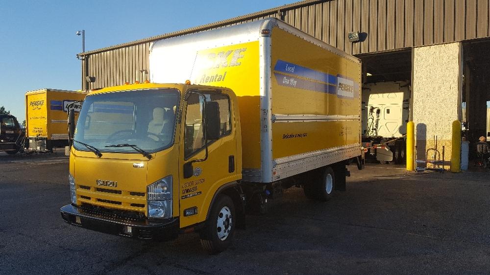 Medium Duty Box Truck-Light and Medium Duty Trucks-Isuzu-2013-NPR-LOUISVILLE-KY-183,024 miles-$21,250